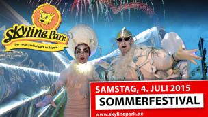 Sommerfestival 2015 im Skyline Park am 4. Juli ist erstes von zwei Nacht-Events