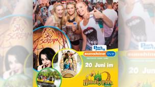 Holiday Park – sunshine live ParkParty 2015 am 20. Juni mit Sparmöglichkeit