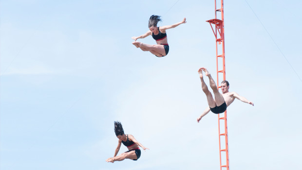 Toverland High Diving Show