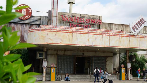 Van Helsing's Factory im Movie Park Germany