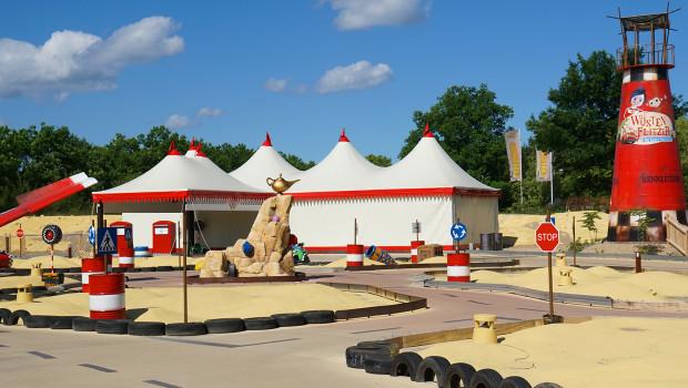 Wüstenflitzer Kinder-Fahrschule im Heide Park