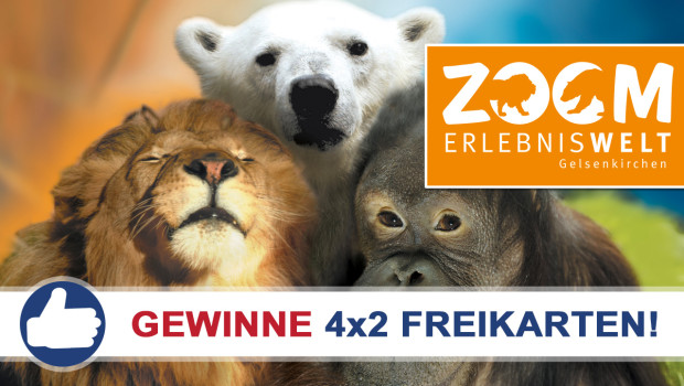 ZOOM Erlebniswelt Freikarten-Freitag KW25/2015