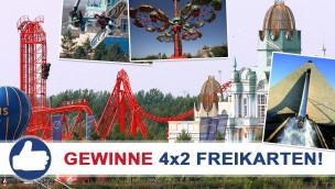 Gewinne 4×2 Eintrittskarten für den Freizeitpark BELANTIS beim Freikarten-Freitag KW27/2015