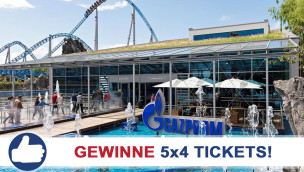 Europa-Park feiert 40. Geburtstag – Gewinnt mit GAZPROM 5×4 Eintrittskarten!