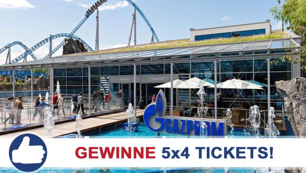 Europa-Park Tickets Gewinnspiel mit Gazprom