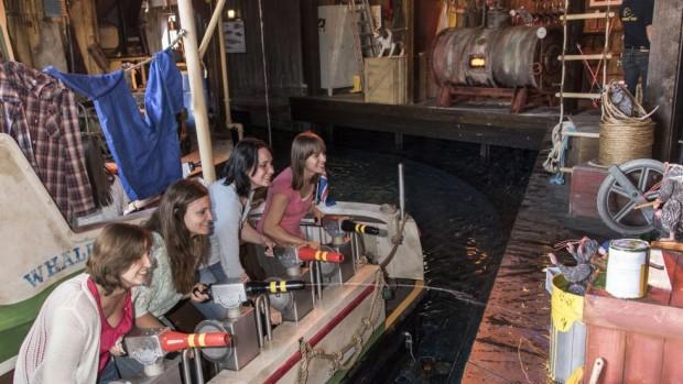 Europa-Park - Whale Adventures 2015 Innen