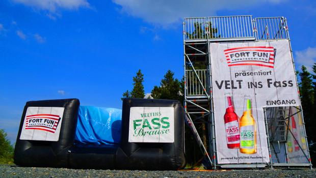 Fort Fun Abenteuerland Sprungturm 2015