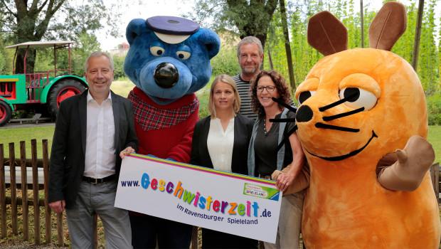 Gescgwusterzeit im Ravensburger Spieleland für Geschwisterkinder