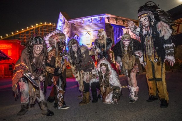 Halloween Horror Fest Monster in Old West
