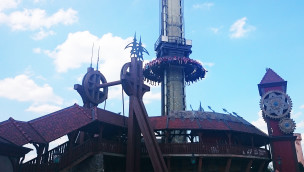 Heide Park Free-Fall-Tower Scream