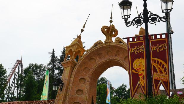 Holiday Park Eingang