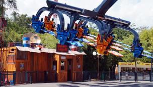 Sky Fly im Holiday Park eröffnet: Neuheit 2015 lädt zum Abheben ein