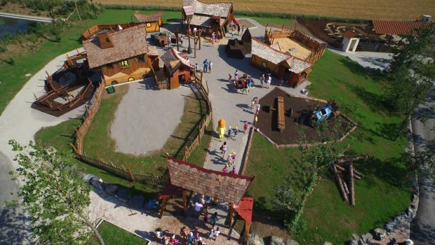 Kids Farm im Skyline Park - Luftaufnahme