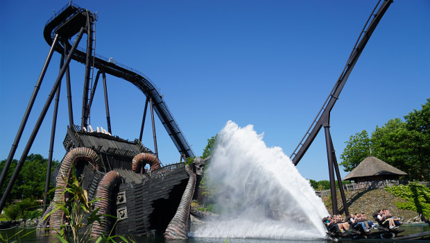 KRAKE - Heide-Park Dive Coaster