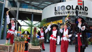 Piraten im Sommer 2015 im LEGOLAND Discovery Centre Berlin