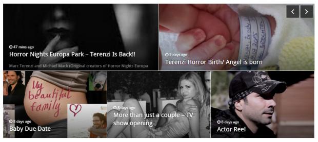 Marc Terenzi Horror Nights 2015 Enthüllung