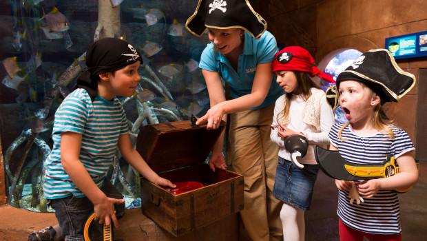 Piraten-Schatz im SEA LIFE Oberhausen
