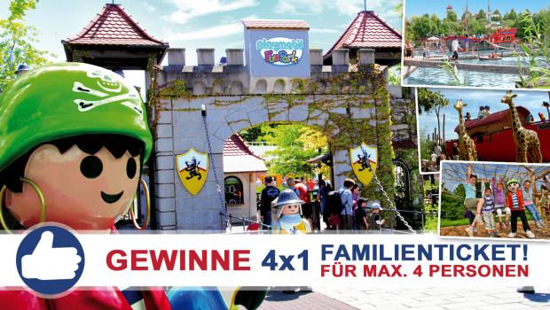 PLAYMOBIL-FunPark Freikarten-Freitag 2015