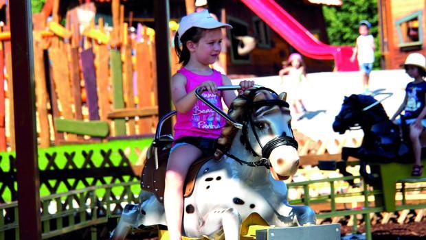 Pony Trip im Skyline Park