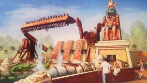 Parc Astérix kündigt Top-Spin Sacrés Crocos für 2016 an