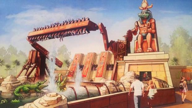 Sacres Crocos - Parc Asterix 2016 - Artwork