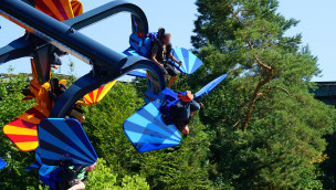 Sky Fly Rekord im Holiday Park