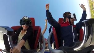 """Virtuelle Welt auf echter Achterbahn: """"VR Coaster"""" bald für alle im Europa-Park zu erleben"""