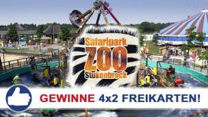 Gewinne 4×2 Eintrittskarten für den Zoo Safaripark Stukenbrock beim Freikarten-Freitag KW30/2015