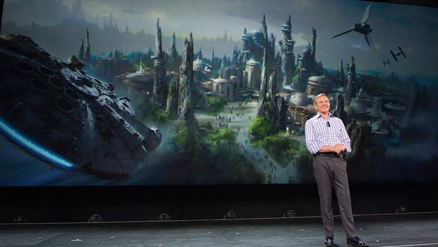 Bob Iger - Star Wars-Land Ankündigung