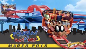 """Bosque Mágico kündigt Spinning-Coaster """"Policias y Ratones"""" für 2016 an"""