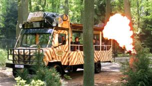 Bus im Serengeti-Park Hodenhagen
