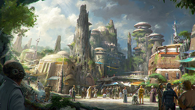Disney Star Wars-Land Konzept 2