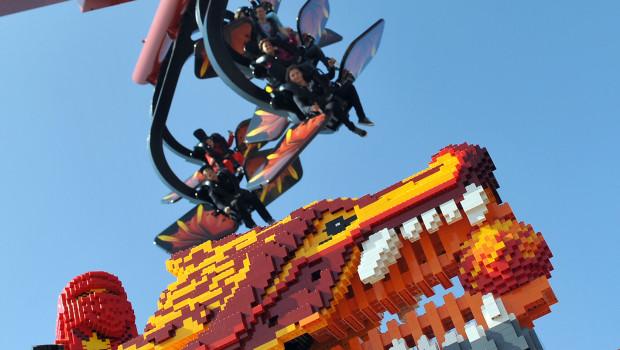 Flying Ninjago im LEGOLAND Deutschland