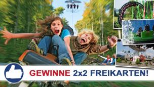 Gewinne 2×2 Eintrittskarten für das FORT FUN Abenteuerland beim Freikarten-Freitag KW32/2015