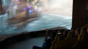 FoXDome im FORT FUN Abenteuerland zu Halloween 2015 mit besonderem Film
