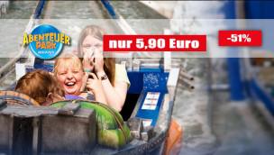 Abenteuer Park Oberhausen günstig besuchen: jetzt Tickets mit 51 Prozent Rabatt sichern!