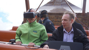 HUSS stellt Virtual Reality-System für Fahrgeschäfte vor