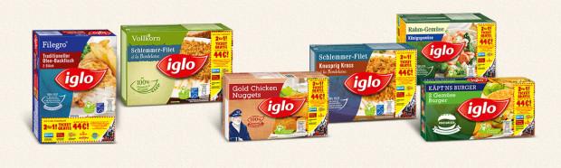 iglo 2-für-1 Ticket gratis Aktionspackungen 2015