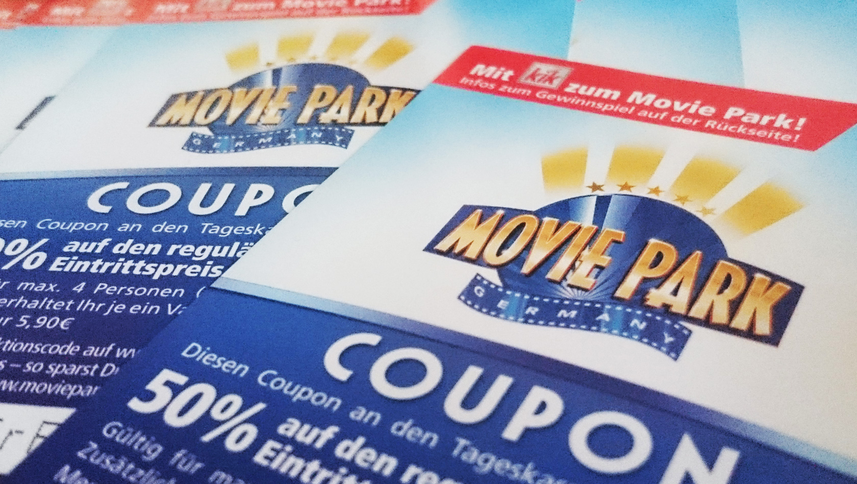 Discount coupons movie world
