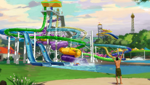 Kings Island - Tropical Plunge Concept