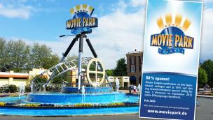 Movie Park Germany Gutschein 2015 zum Ausdrucken: 50% Rabatt im September sichern!