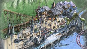 So wird die Holzachterbahn in Plopsaland De Panne thematisiert: erste Konzepte enthüllt