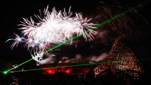 Für die Pyro Games 2015 in Tripsdrill werden atemberaubende Feuerwerk-Musicals versprochen. (Foto: Erlebnispark Tripsdrill)
