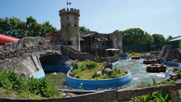 Rio Dorado im Hansa-Park
