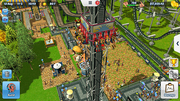 RollerCoaster Tycoon 3 Mobile - iPhone- und iPad-Version