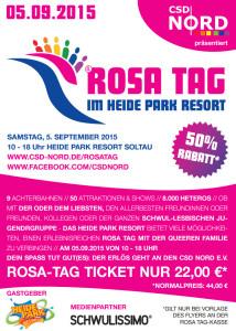 Rosa Tag 2015 Flyer
