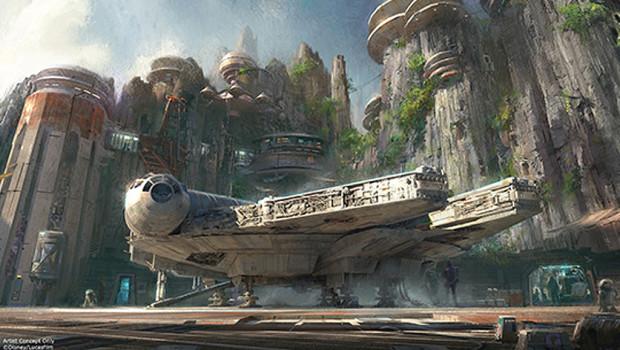 Star Wars Freizeitpark - Konzept 3