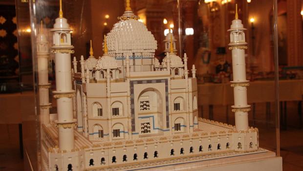 Taj Mahal aus LEGO-Steinen - Erlebnis-Zoo Hannover