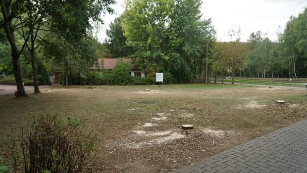 Bayern Park Neuheit 2016 Standort-Vorbereitung