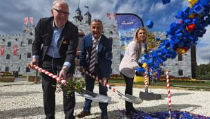 Drachenburg-Hotel im LEGOLAND Deutschland entsteht – erster Spatenstich erfolgt